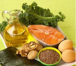 Omega 3 and Omega 6 sources balance